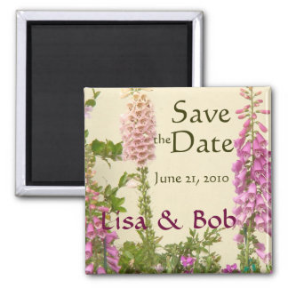 Flowers Floral Garden Blossoms Photography Square Magnet