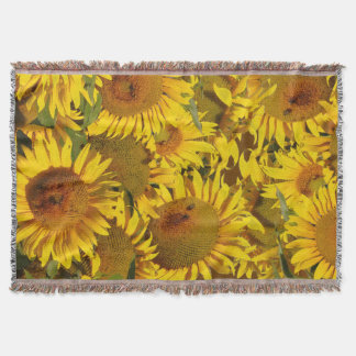 Flowers Floral Garden Blossoms Throw Blanket