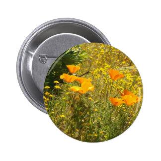 Flowers Floral Garden Photography 2 Inch Round Button