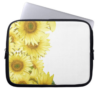 Flowers Floral Garden Photography Laptop Sleeve