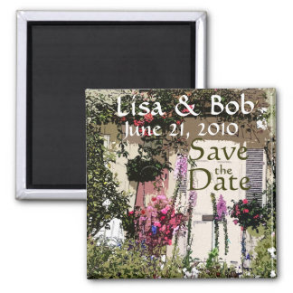 Flowers Floral Garden Photography Square Magnet