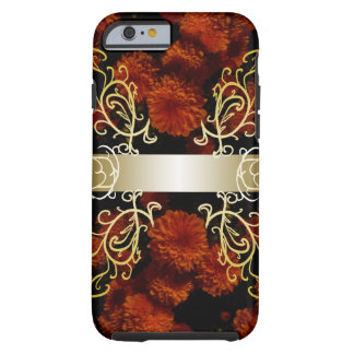 Flowers Floral Gold Ornate Flair CricketDiane Tough iPhone 6 Case