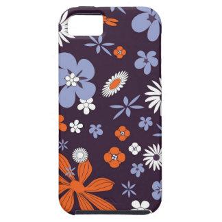 Flowers floral purple colorful phone case