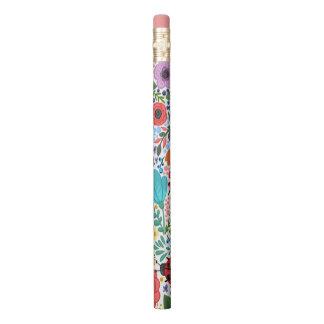 Flowers Flowers Ladybug Pencil