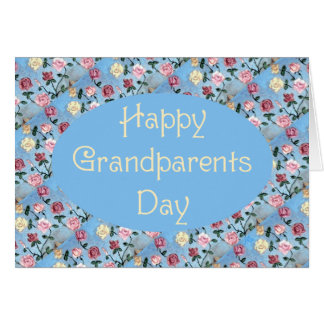 Flowers For Grandma-Grandparents Day Card