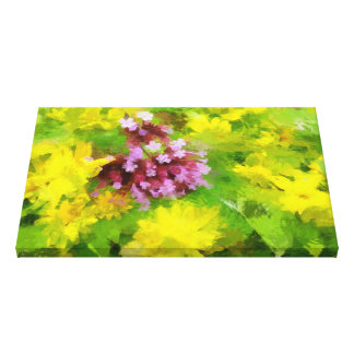 Flowers for luck.Stage4.This picture-give you luck Canvas Print