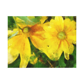 Flowers for luck.Stage6.This picture-give you luck Canvas Print