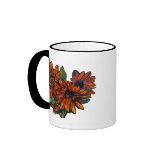 Flowers for Vincent light Ringer Mug