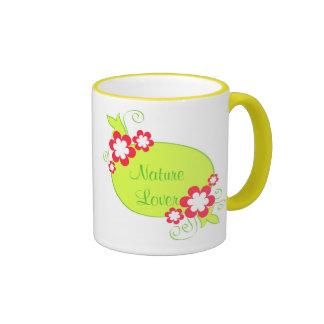 Flowers frame - Mug