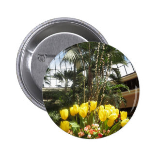 Flowers from Butterfly Garden LasVegas USA America 2 Inch Round Button