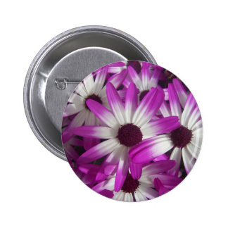 Flowers Galore 2 Inch Round Button