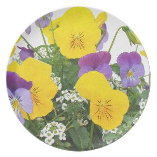 Flowers Garden Floral Photography Dinner Plate