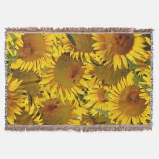 Flowers Garden Floral Photography Throw