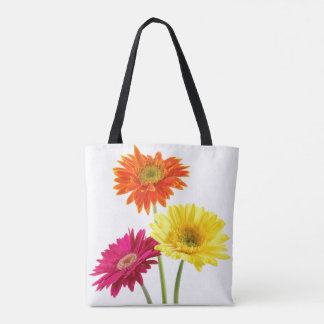 Flowers Gerbera Daisies Tote Bag