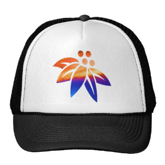 Flowers Graphic Hats