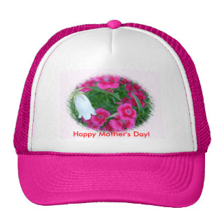 Flowers Happy Mother s Day Hats