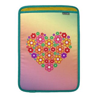 FLOWERS HEART MacBook Air Sleeve