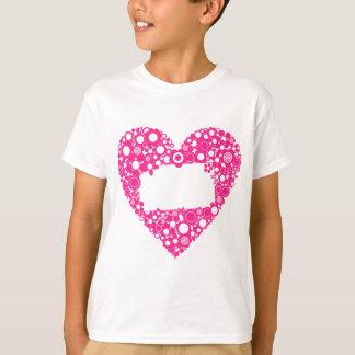 Flowers heart T-Shirt