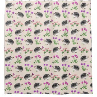 Flowers & Hedges SHOWER CURTAIN