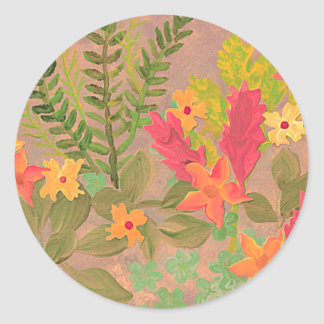 Flowers & Herbs art sticker