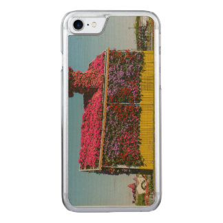Flowers house in Dubai Miracle Garden Carved iPhone 7 Case