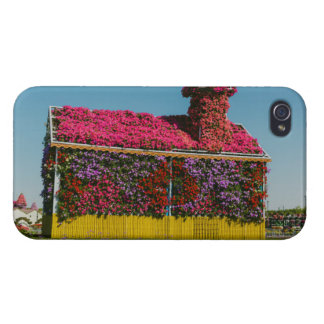 Flowers house in Dubai Miracle Garden iPhone 4 Covers