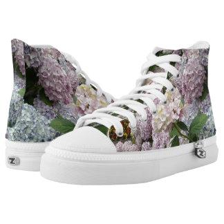 Flowers Hydrangea  Shoes