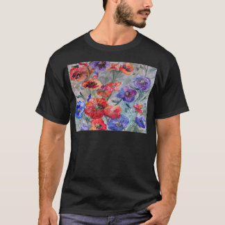 Flowers in a Field of Green T-Shirt