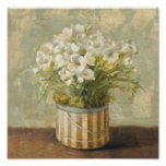 Flowers in a Hat Box Poster