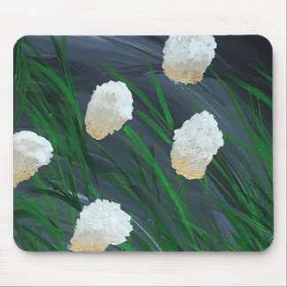 Flowers in a Storm Mouse Pad