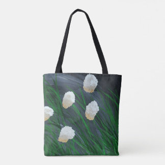 Flowers in a Storm Tote Bag