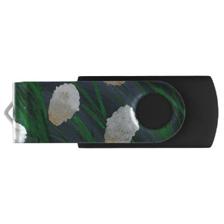 Flowers in a Storm USB Flash Drive