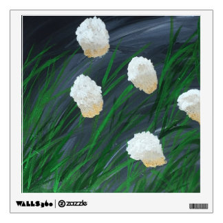 Flowers in a Storm Wall Decal
