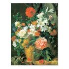 Flowers in a Terra Cotta Vase Postcard