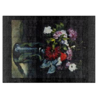 Flowers in a Vase Chopping Board