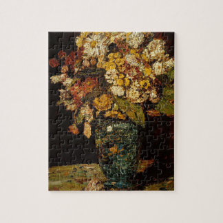 Flowers in a Vase Jigsaw Puzzle