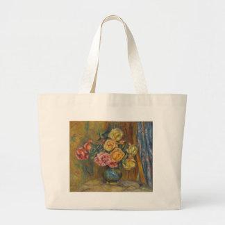 Flowers in a Vase Jumbo Tote Bag