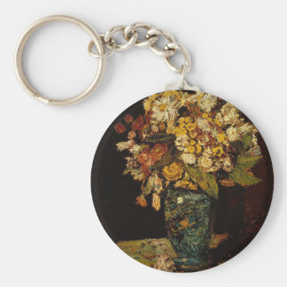 Flowers in a Vase Keychain