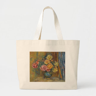 Flowers in a Vase Large Tote Bag