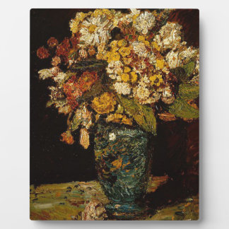 Flowers in a Vase Plaque
