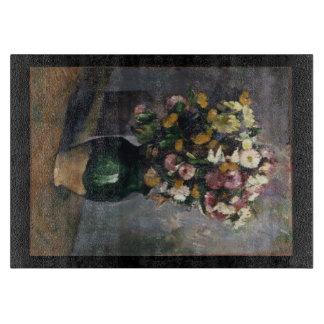 Flowers in an Olive Jar Cutting Board