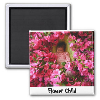 Flowers in April, Flower Child Magnet