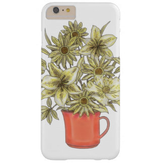 Flowers in Coffee Mug 1 Barely There iPhone 6 Plus Case