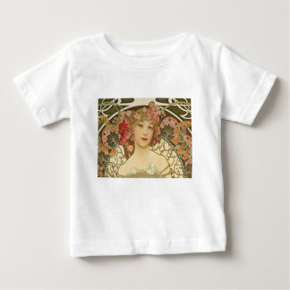 Flowers in her Hair Baby T-Shirt
