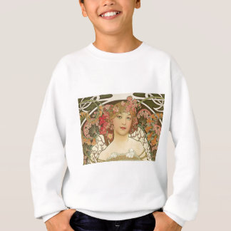 Flowers in her Hair Sweatshirt