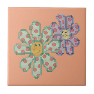 Flowers in Love Ceramic Tiles
