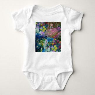 Flowers in Monet's garden are unique Baby Bodysuit