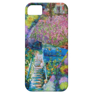 Flowers in Monet's garden are unique iPhone 5 Cases