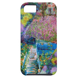 Flowers in Monet's garden are unique iPhone 5 Cover