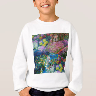 Flowers in Monet's garden are unique Sweatshirt